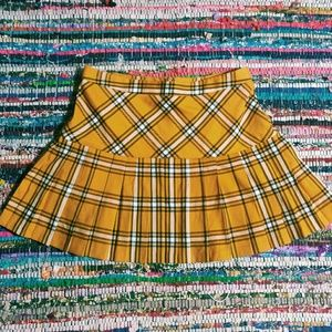 🐺 NWT 90's Throwback Plaid Skirt 🐺